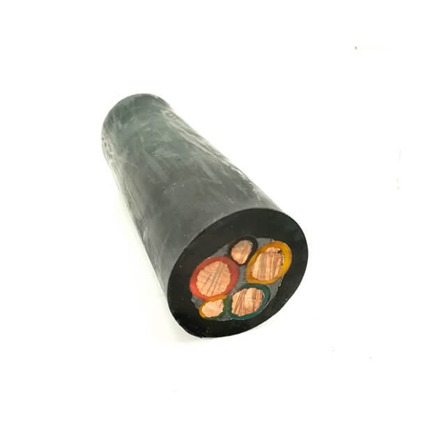 General Purpose Stranded Copper Conductor Soft Rubber Cable